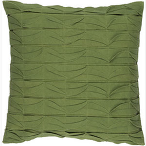 Huckaby Olive 22-Inch Pillow with Down Fill