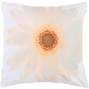 Flower Photo 22 x 22 Pillow w/ Down Fill
