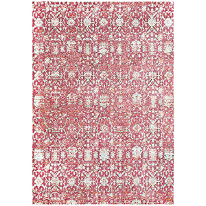 Herati Red Rectangular: 5 Ft. 3 In. x 7 Ft. 3 In. Rug
