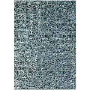 Herati Aqua Rectangular: 3 Ft. 11 In. x 5 Ft. 11 In. Rug