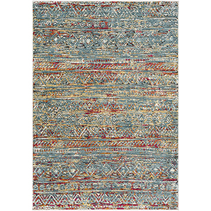 Herati Multicolor Rectangular: 7 Ft. 10 In. x 10 Ft. 6 In. Rug