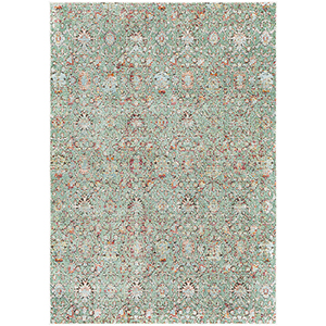 Herati Green Rectangular: 7 Ft. 10 In. x 10 Ft. 6 In. Rug