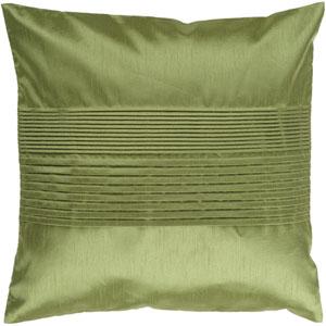 Avocado 22 x 22 Pleated Pillow