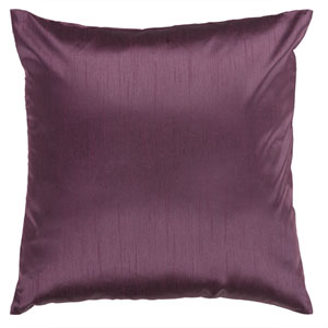Prune Purple 22 x 22 Pillow