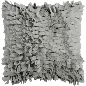 Claire Gray 22-Inch Pillow Cover