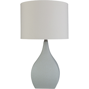 Hinton Ice Blue One-Light Table Lamp