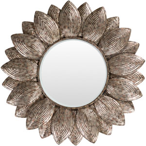 Helios Champagne Wall Mirror
