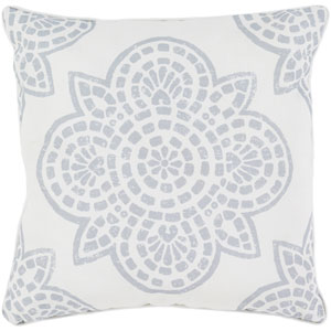Hemma Gray and Neutral 16 x 16-Inch Pillow