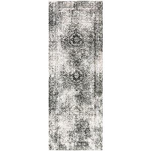 Himalayan Black Runner: 2 Ft. 7 In. x 7 Ft. 3 In. Rug