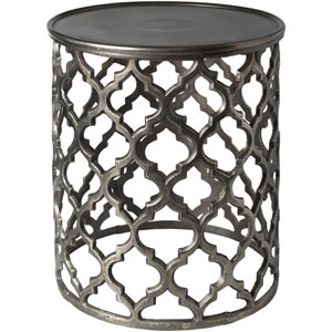 Hammett Charcoal Accent Table