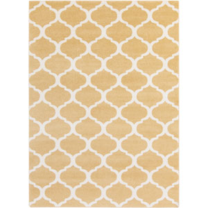 Horizon Gold and Ivory Rectangular: 5 Ft 3 In x 7 Ft 3 In Rug