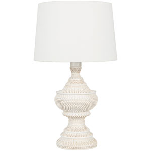 Hattie Outdoor White Table Lamp