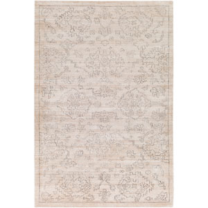 Hightower Beige and Charcoal Rectangular: 6 Ft. x 9 Ft. Rug