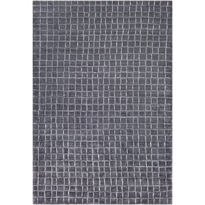 Hightower Charcoal and White Rectangular: 2 Ft. x 3 Ft. Rug