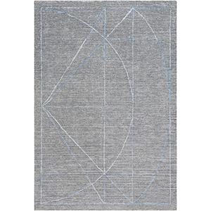 Hightower Medium Grey Rectangular: 6 Ft. x 9 Ft. Rug
