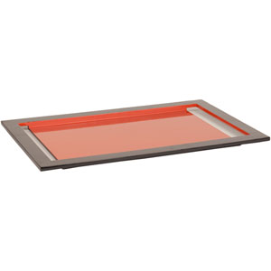 Elm Medium Rust Red Tray