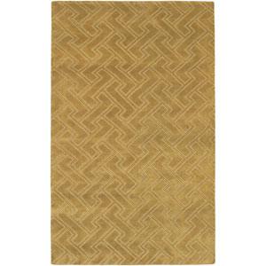 Mugal Golden Tan Rectangular: 5 Ft. x 8 Ft. Rug