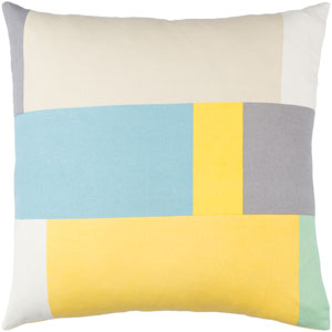 Lina Multicolor 18 x 18-Inch Pillow Cover