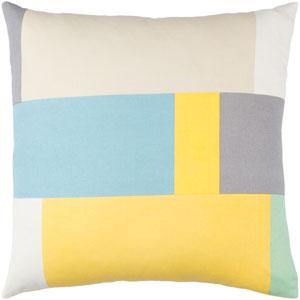 Lina Multicolor 20 x 20-Inch Pillow Cover
