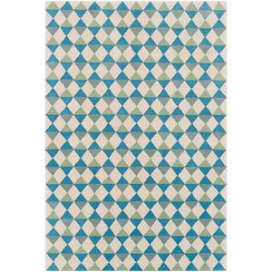 Lina Multicolor Rectangular: 5 Ft. x 7 Ft. 6 In. Rug