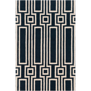Lina Navy Rectangular: 5 Ft. x 7 Ft. 6 In. Rug