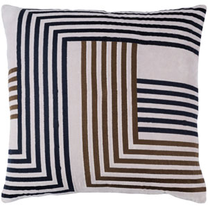 Intermezzo Multicolor 20 x 20-Inch Pillow Cover