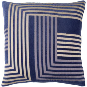Intermezzo Multicolor 20 x 20-Inch Pillow Cover