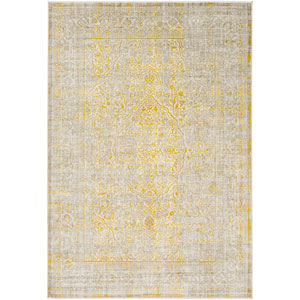 Jax Yellow and Neutral Rectangular: 2 Ft. 2-Inch x 3 Ft. Rug