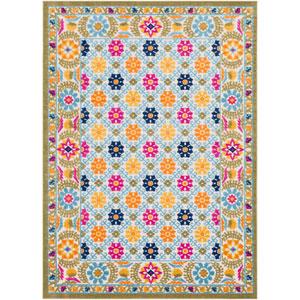 Jolene Multicolor Rectangle: 5 Ft. 3 In. x 7 Ft. 3 In. Rug