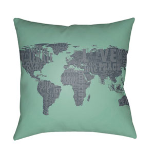 Jetset Multicolor 20 x 20-Inch Pillow