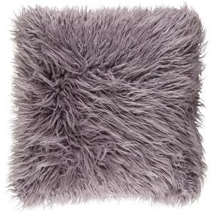 Kharaa Light Gray 18 x 18-Inch Pillow