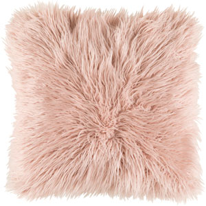 Kharaa Pink 22-Inch Pillow with Down Fill