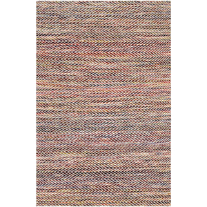 Kinley Burgundy and Eggplant Rectangular: 8 Ft. x 10 Ft. Rug