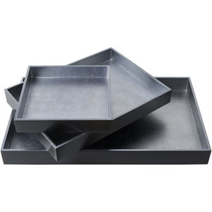 Kalista Silver and Navy Tray