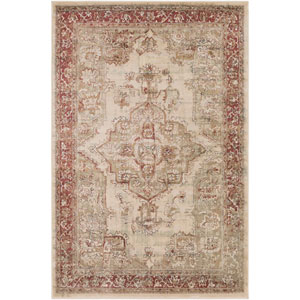 Kaitlyn Multicolor Rectangular: 5 Ft. 3 In. x 7 Ft. 6 In. Rug