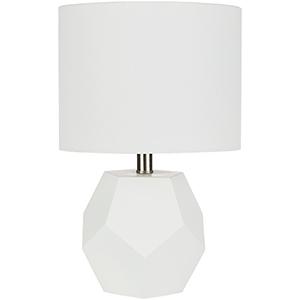 Kelsey White One-Light Table Lamp