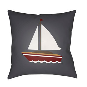 Sail Multicolor 20 x 20-Inch Throw Pillow