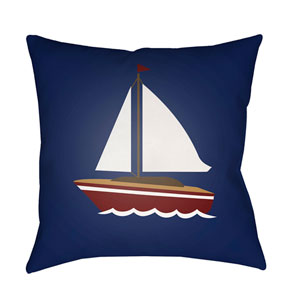 Sail Multicolor 18 x 18-Inch Throw Pillow