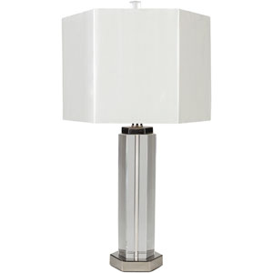 Layla Silver Table Lamp