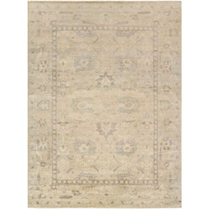 Lara Gray and Brown Rectangular: 10 Ft. x 14 Ft. Area Rug