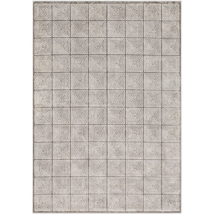 Lagom Grey and Ivory Rectangular: 7 Ft. 10 In. x 10 Ft. 3 In. Rug