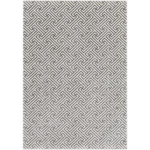 Lagom Charcoal and Ivory Rectangular: 2 Ft. x 3 Ft. Rug