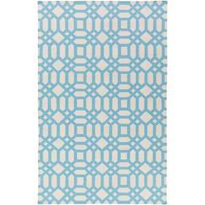 Lagoon Blue Rectangular: 4 Ft. x 6 Ft. Area Rug