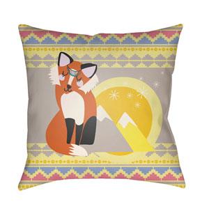 Littles Multicolor 22 x 22-Inch Pillow