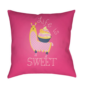 Littles Multicolor 22 x 22-Inch Pillow