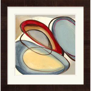 Circular Reasoning III by Goldberger, Jennifer 31 x 32-Inch Abstract Wall Art