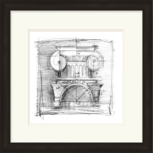 Drafting Elements I by Harper, Ethan: 23 x 24-Inch Architecture Wall Art