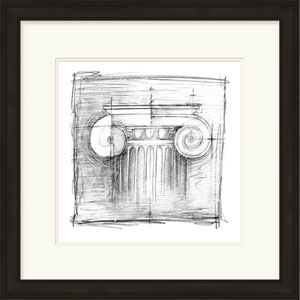 Drafting Elements II by Harper, Ethan: 23 x 24-Inch Architecture Wall Art