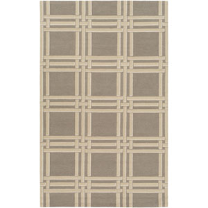 Lockhart Gray and Neutral Rectangular: 2 Ft x 3 Ft Rug by Alexander Wyly