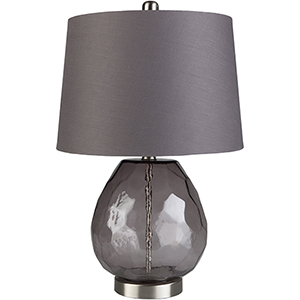 Larkspur Dark Purple One-Light Table Lamp